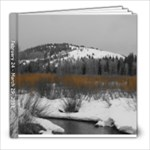 Wyoming beige background - 8x8 Photo Book (20 pages)