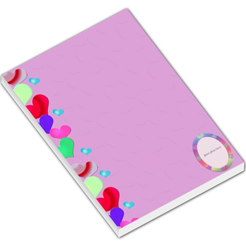 Allaboutlove2 Lge Note By Kdesigns   Large Memo Pads   Fidpbz4x431t   Www Artscow Com