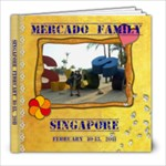 MERCADO FAMILY IN SINGAPORE - 8x8 Photo Book (20 pages)