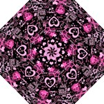 pink punk umbrella - Folding Umbrella