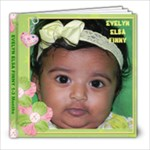 Evelyn 1-3 months - 8x8 Photo Book (20 pages)