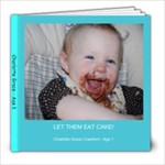 Age 1 - 8x8 Photo Book (20 pages)