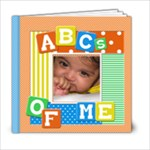 ABC s of Bhaanvi - 6x6 Photo Book (20 pages)