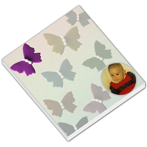 Butterfly Small Memo By Deborah   Small Memo Pads   8ed0flyy2ipc   Www Artscow Com