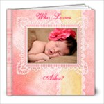 Who Loves Asha? - 8x8 Photo Book (20 pages)