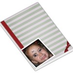Large Stripe Notepad - Large Memo Pads