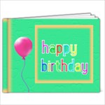 Birthday Book 9x7 book - 9x7 Photo Book (20 pages)