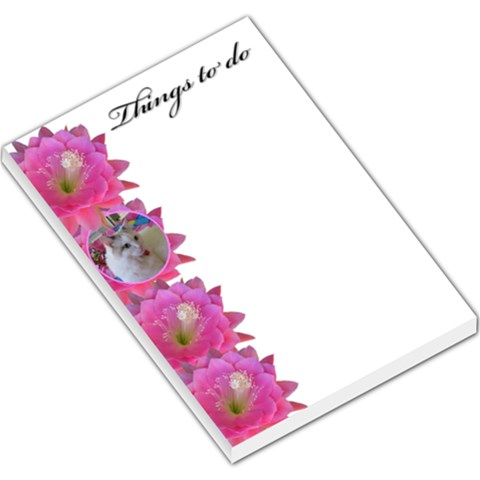 Sweet Things To Do Large Memo By Deborah   Large Memo Pads   Hu15qilpghng   Www Artscow Com
