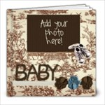Warm Fuzzy Baby Boy Photo Book 6x6 - 8x8 Photo Book (20 pages)