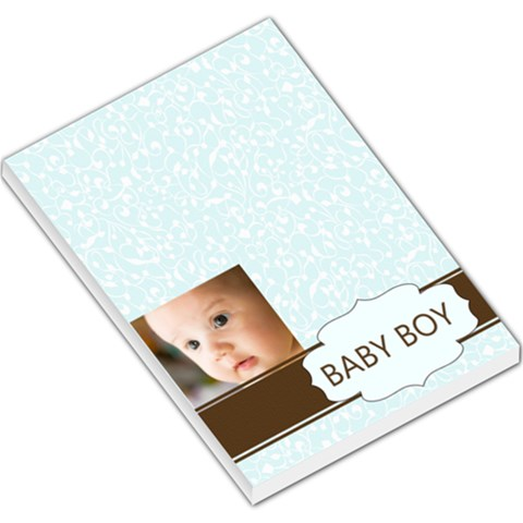 Baby Boy By Joely   Large Memo Pads   Lw3mhzaxicwd   Www Artscow Com