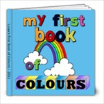 luisa s first book of colours - 8x8 Photo Book (20 pages)