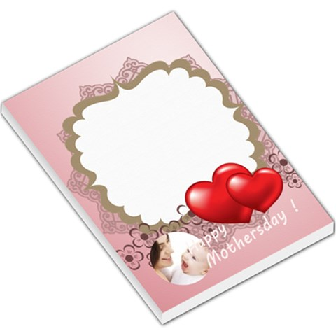 Happy Mothers Day By Joely   Large Memo Pads   Ewwsqi2j9y7z   Www Artscow Com