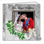 My Royal Wedding album - 8x8 Photo Book (20 pages)