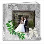 Our Perfect Wedding 2 8 x 8 20 Page Book - 8x8 Photo Book (20 pages)