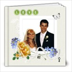 Simple Love Book 8x8 20 pg - 8x8 Photo Book (20 pages)