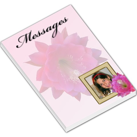 Our Messages Large Memo By Deborah   Large Memo Pads   U63zcw0xa1yf   Www Artscow Com