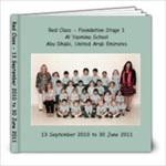 FS1, Red Class - 8x8 Photo Book (30 pages)