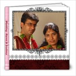 Sushma and Naren - 8x8 Photo Book (20 pages)