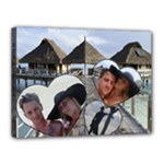BORA BORA STRETCHED CANVAS - Canvas 16  x 12  (Stretched)