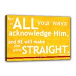 prov 3:  5-6 part 2 - Canvas 18  x 12  (Stretched)