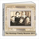 Hastings Reunion2 - 8x8 Photo Book (39 pages)