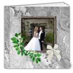 Our Perfect Wedding 2 8 x 8 deluxe 20 Page Book - 8x8 Deluxe Photo Book (20 pages)