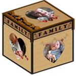 Family Storage Photo Stool - Storage Stool 12