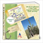 EN US Southwest 7-Day Tour (4.22, 2010) - 8x8 Photo Book (20 pages)