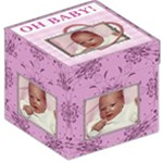 Oh Baby Girl 12  Photo Storage Stool - Storage Stool 12