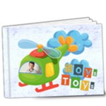 Boys Toys Deluxe 9 x 7 20 page book - 9x7 Deluxe Photo Book (20 pages)