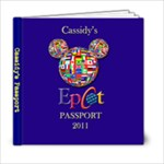 Cassidy s Passport - 6x6 Photo Book (20 pages)