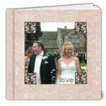 Classic Marble Deluxe 8 x 8 20 page wedding album 2 - 8x8 Deluxe Photo Book (20 pages)