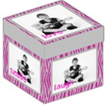 love box 12 inch photocube stool  storage - Storage Stool 12