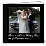 Wedding PhotoBook - 8x8 Deluxe Photo Book (20 pages)