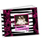 Pink n Zebra  Deluxe Family brag book 7 x 5 - 7x5 Deluxe Photo Book (20 pages)