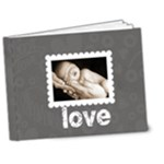100% love monochrome Deluxe bragbook 7 x 5 - 7x5 Deluxe Photo Book (20 pages)