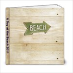 beach day - 6x6 Photo Book (20 pages)
