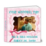 amanda and nick wedding - 6x6 Deluxe Photo Book (20 pages)