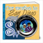 San Diego - 8x8 Photo Book (39 pages)