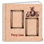 mouse party 8x8 deluxe photo book - 8x8 Deluxe Photo Book (20 pages)