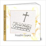 AMANDA COMMUNION - 6x6 Photo Book (20 pages)