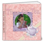 Ava Tea Party for Scouts - 8x8 Deluxe Photo Book (20 pages)