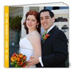 8*8 Wedding book - 8x8 Deluxe Photo Book (20 pages)