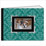 Turquoise & Black 9x7 39 page book - 9x7 Photo Book (39 pages)