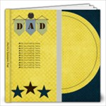 Dads Day 12x12 Photo Book - 12x12 Photo Book (20 pages)