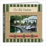 Our Vacation - Bali 2011 - 8x8 Photo Book (20 pages)
