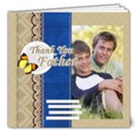 thank you father - 8x8 Deluxe Photo Book (20 pages)