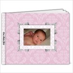Baby Girl 7x5 Book - 7x5 Photo Book (20 pages)