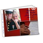 Sanders Wedding book - 7x5 Deluxe Photo Book (20 pages)