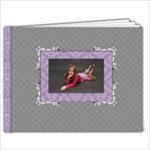 Gray & Lavender 7x5 Book - 7x5 Photo Book (20 pages)